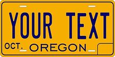 Oregon 1974 Tag License Plate Personalized Auto Car Custom VEHICLE OR MOPED