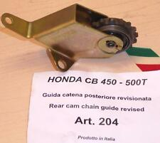 Honda CB450 Cappellini Moto rebuilt REAR chain tensioner uses guide sprocket 204