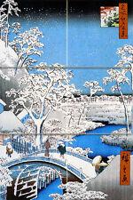 Japen Art Mural Ceramic Landscape Backsplash Tile #312
