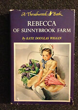 2 Thrushwood Books Seventeen Booth Tarkington & Rebecca of Sunnybrook Farm