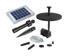 Solar Fountain Pump Kit 70cm Height 2w Solar Panel For Pond Garden Water Feature