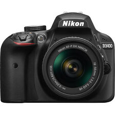 NIKON D3400 DSLR with  AF-P DX NIKKOR 18-55mm f/3.5-5.6G VR Lens (SMP6)