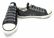 Converse Shoes Chuck Taylor Ox All Star Shimmer Weave Black Sneakers Men 6 WO 8