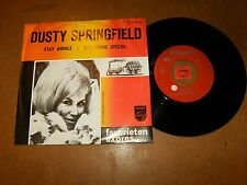 DUSTY SPRINGFIELD - STAY AWHILE - SOMETHING - 45 PS / LISTEN - GIRL BEAT POPCORN