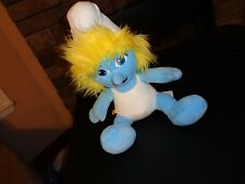 BUILD A BEAR SMURFS SMURFETTE PLUSH DOLL FIGURE STUFFED CARTOON SMURF MOVIE TOY