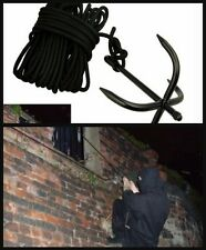 STEALTH NINJA GRAPPLING HOOK SPY GADGET CLIMBING ANCHOR ROCK CLIMBING ROPE WALLS