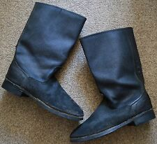 Soviet Russian USSR Army Military Soldier or Officer Uniform Boots ~ Size 42-43
