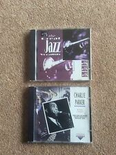 The Great Jazz Vocalists Charlie Parker Bird Live! And  Ray Charles CDs x 2
