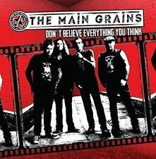 CD - THE MAIN GRAINS - DON'T BELIEVE EVERYTHING YOU THINK (2016) ex WILDHEARTS