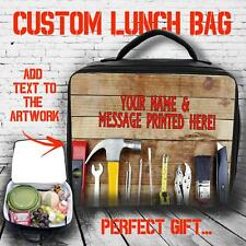 Personalised Worlds Best Handy Man Large Lunch Bag Insulated Cool Box Gift ST352