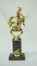 """HALLOWEEN TROPHY, COSTUME PARTY AWARD   PUMPKIN CARVING 3""""BCW FREE LETTERING"""