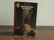 "Vintage Penguin book #1076 ""Nightrunners of Bengal"" by John Masters"