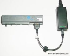 External Laptop Battery Charger for Dell Latitude E6400 E6500, PT434 PT437 KY477