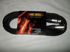 Hot Wires Speaker Cable XLR Male / XLR Female 5 Mt
