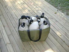 6 Pocket Full Body Goose Decoy Bag, Lesser, Speck Custom Decoy Bag NEW
