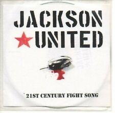 (AS869) Jackson United, 21st Century Fight Song - DJ CD