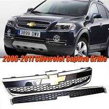 CHEVROLET FROTN GRILLE CHROME PAINTED 1SET FOR 2006-2011 CHEVY CAPTIVA