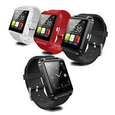 U8 Bluetooth Smart Watch Phone Mate For Android, IOS (Iphone Samsung LG)  Black