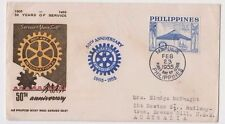 Stamp Philippines 1953 International Fair Manila cinderella label, MUH gum spots