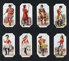PLAYERS 1937 HISTORY OF ARMY UNIFORMS - 32 CARDS OF 50