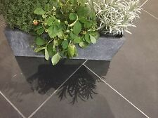 Brazilian Slate Tiles Flooring 10m2 600 x 300 10mm Thick Calibrated Nero Black