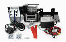 2500lb ELECTRIC TRAILER / ATV WINCH  WIRELESS REM 12v