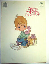 Precious Moments Book 3 miracles love  cross stitch pattern