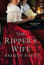 The Ripper's Wife Novel Signed by Brandy Purdy Jack the Ripper Diary Maybrick