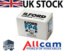 Ilford FP4 Plus 125 135 / 35mm 24 Exposure Black & White Film Roll *New Retail