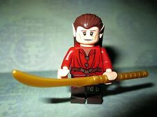 Lego Lord Of The Rings MIRKWOOD ELF CHIEF Minifigure With WEAPON From Set# 79004