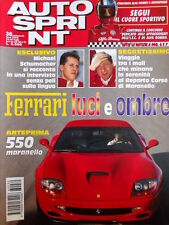 Autosprint n°30 1996 Ferrari 550 Maranello  [P14]