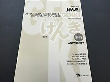 GENKI An Integrated Course in Elementary Japanese Answer Key Second Edition Book