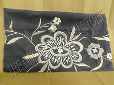 Pottery Barn Bed Bath Lola Floral Embroidered Bedroom Pillow Sham Standard