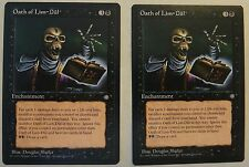 Magic the Gathering - Ice Age - Oath of Lim-Dul x2 NM/Mint