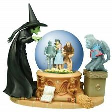 Wizard Of OZ Musical 100MM Water/Snow Globe - Wicked Witch with Crystal Ball