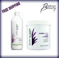 Matrix Biolage Hydrasource Shampoo 1 Litre and Conditioner 1094ml Duo Pack