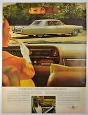 1964 Cadillac ~ 4 Door ~ Womens Lib ~ Original Vintage Ad ~Large Size~Full Color