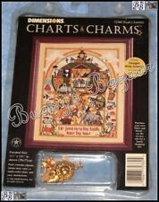 Dimensions NOAH'S JOURNEY Ark Counted Cross Stitch Picture Kit - Charts & Charms