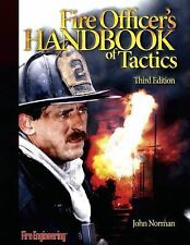Fire Officer's Handbook of Tactics by John Norman (2005, Hardcover, Revised)