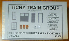 Tichy Train Group #2050 (O Scale)Structure Part Assortment (Styrene) -- Includes