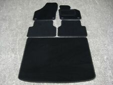 Car Mats in Black to fit VW/Volkswagen Tiguan (07 on) + Boot Mat