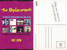 THE REPLACEMENTS POSTCARD 2015 Official Promo MINT RARE NEW TWIN/TONE CHEAP!