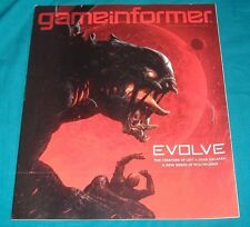 BUY 3=FREE SHIP GAMEINFORMER MAGAZINE BOOK #250 EVOLVE LEFT 4 DEAD