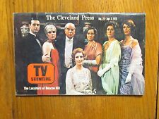 Aug-1975 Cleveland Press TV Showtime(BEACON  HILL/HARRIET CARR/BEATRICE STRAIGHT
