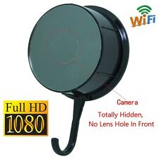 Wireless Wifi 1080P Clothes Hook Hidden Spy Camera Motion Detect No lens Hole