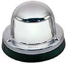 Chrome Plated Brass Stern Navigation Light for Boats - 2 Mile Visibility