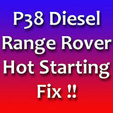 Hot Starting Fix - Range Rover BMW Diesel - P38 DT DSE - Hot Start Fix