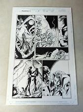 THUNDERBOLTS #13 page #12 original comic book art MARK BAGLEY, FAN FAVORITE!!