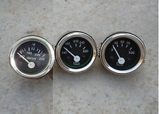 "Elec Oil Pressure + Water Temperature + Oil Temp Gauge 2"" / 52mm  Electrical"