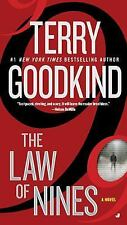 The Law of Nines Goodkind, Terry Mass Market Paperback